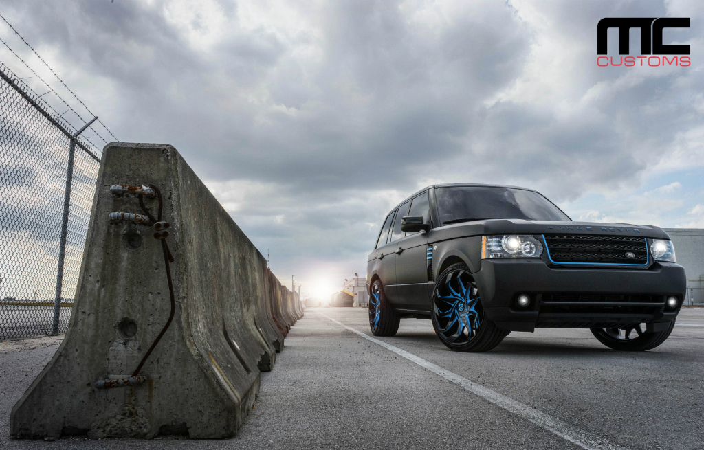 Range Rover Los Angeles >> Matte Black Range Rover On 24-Inch DUB Wheels - Rides Magazine