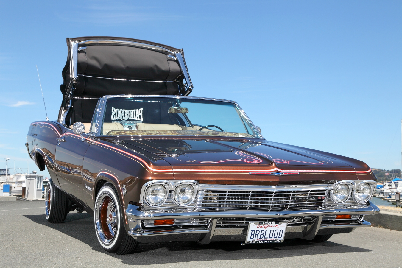 Lowrider Rims And Tires >> 1965 Chevrolet Impala SS Convertible Lowrider - Rides Magazine