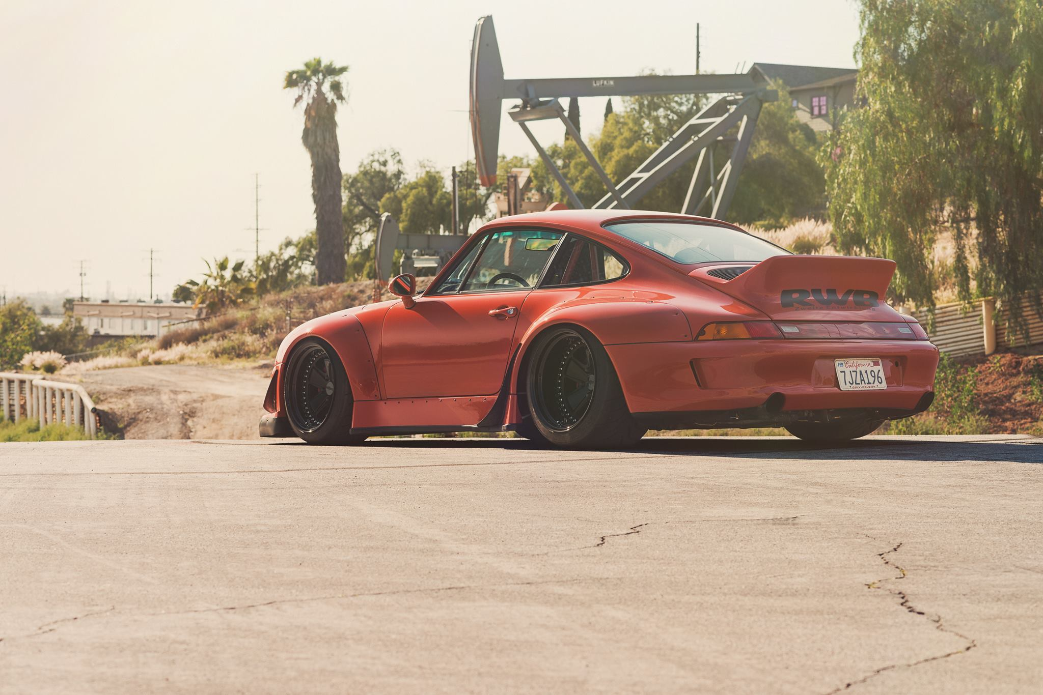 Rwb Porsche 993 On Rotiform Wheels Video Rides Magazine