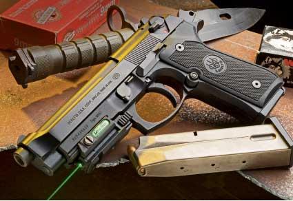 Beretta M9A1 9mm Military Pistol Review