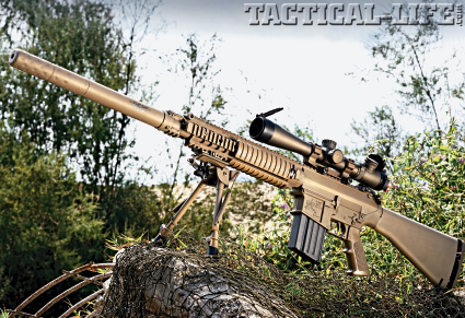 Knight's M110 SASS 7.62mm M110 Sniper Rifle Suppressed