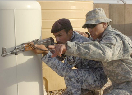 Training academy prepares ISF personnel to protect, maintain