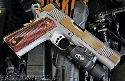 Colt's  45 ACP Rail Gun