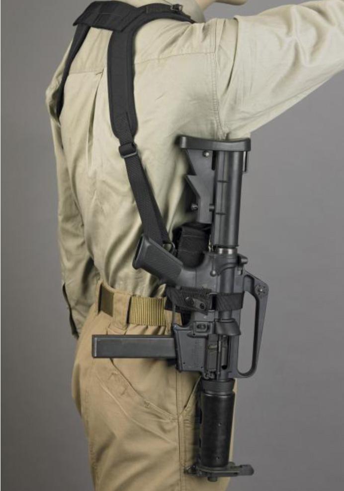 desantis subgun shoulder rig