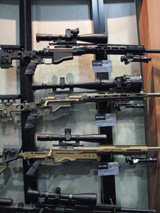 Remington rifles for Military and LE.
