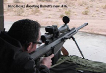 Nino with the Barrett 82A1 in .416