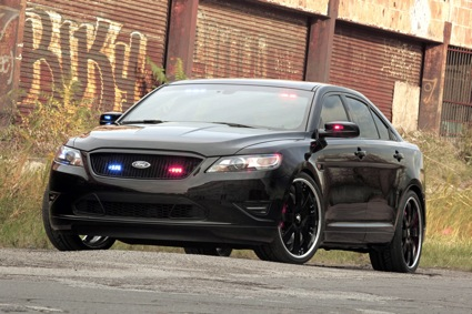 Ford Debuts Ultimate Stealth Police Interceptor Concept at SEMA