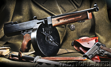 AUTO ORDNANCE'S TOMMY GUN PISTOL