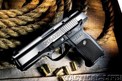 Ruger SR40  40 S&W Handgun Review