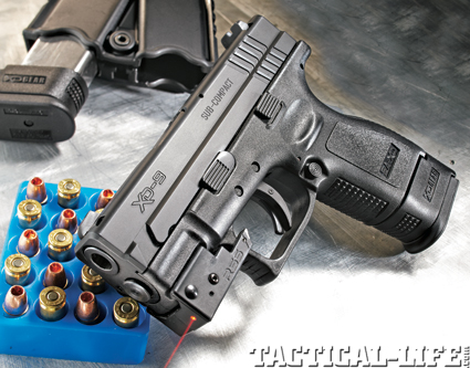 Springfield Xd Sub Compact 9mm