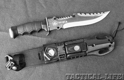 raider blades law enforcement knives