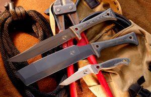 Americanas, Razorback, and Ferret Knives