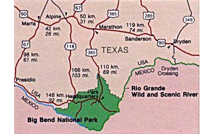 CBP Moves To Open USMexico Border Crossing In Big Bend National - Us mexico border crossings map