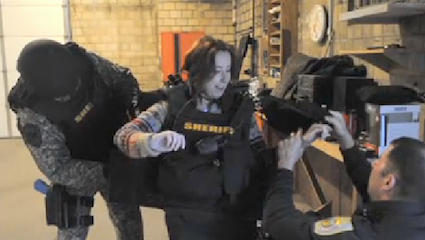 Ohio Journalist Trains With Ottawa County Special Response