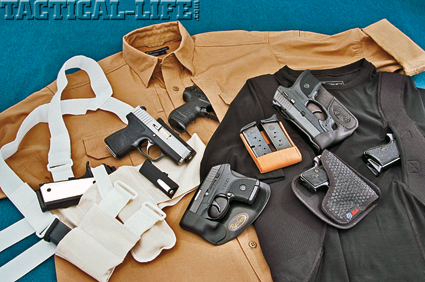 Innovative Carry Methods   Concealed Holsters