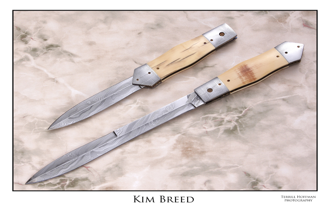 Kim Breed's Double Trouble Knife