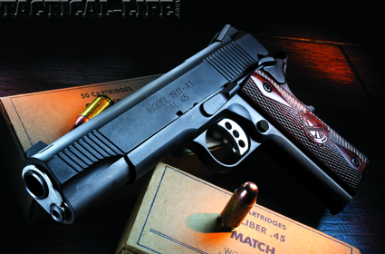 Springfield Loaded 1911-A1  45 ACP Pistol Review