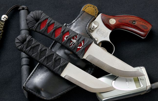 Pohan Leu Custom Knives
