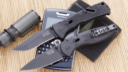 SOG'S Aegis & Trident Mini Knife