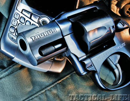 Taurus Hammerless Revolver