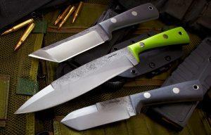 Lon Humphrey's Deathwind Series Knives