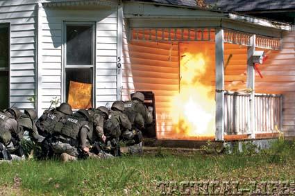 Explosive entries