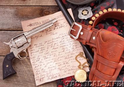 BAT MASTERSON'S Colt SAA | Colt  45 LC Revolver