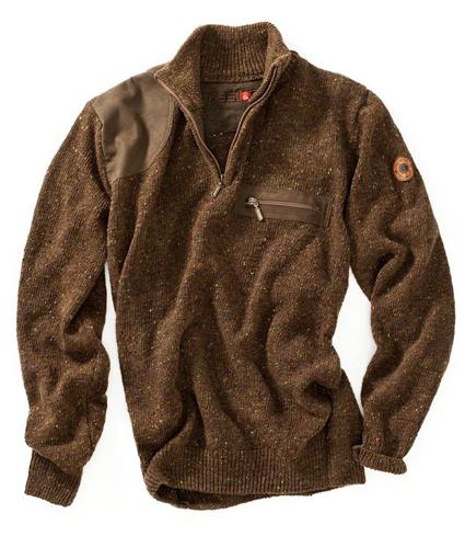 Gaston J Glock Donegal Wool Hunting Sweater
