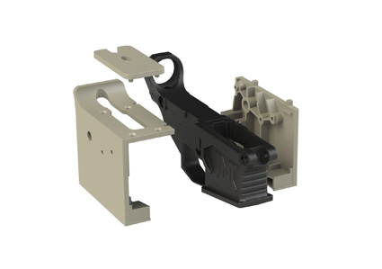 JMT AR-15 80% Polymer/Fiber Lower Receiver