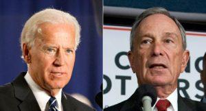 Bloomberg stance on Gun Control gains praise from Biden.