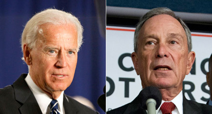 Bloomberg stance on Gun Control gains praise from Biden.
