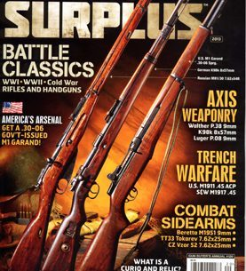 Military Surplus Magazine 2013 Cover