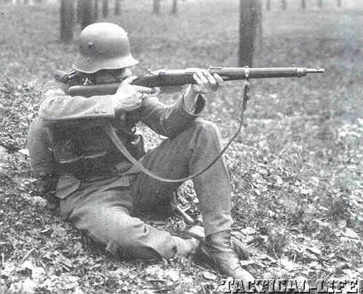 Austrian Soldier Steyr M.95