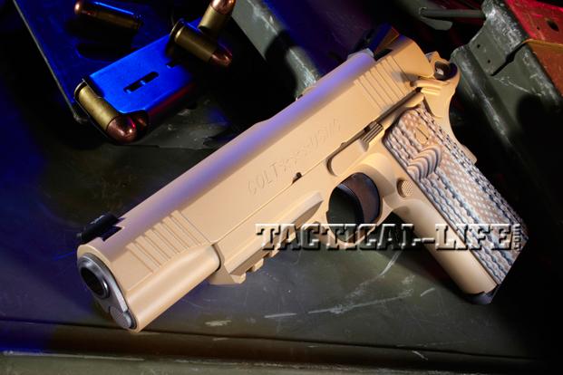 Combat Handguns Colt-M45-CQBP