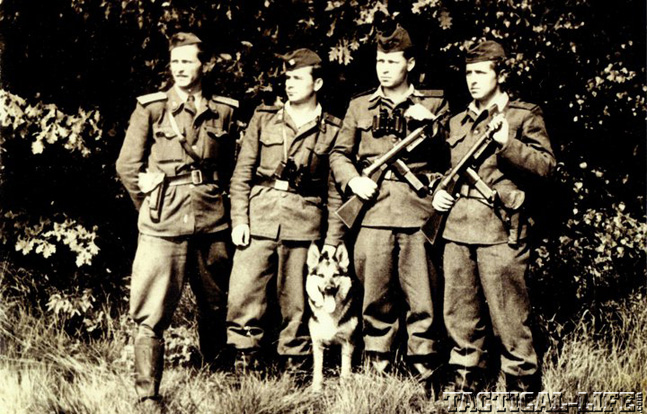 Czech vzor 52 Czechoslovakian Border Guards