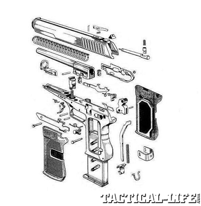 Czech vzor 52 Exploded View