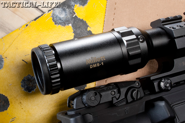 DPMS TAC2 Scope Close Up