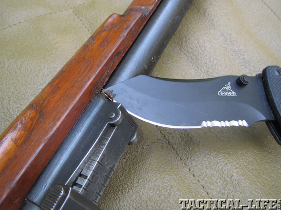 Degrease Military Surplus Guns Knife