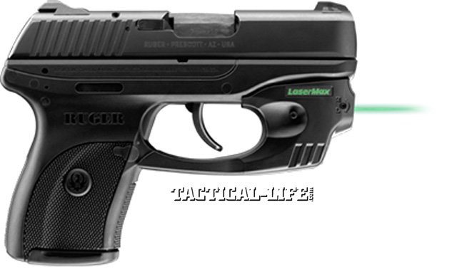 IACP 2013 - LaserMax Green Centerfire for Ruger LC9