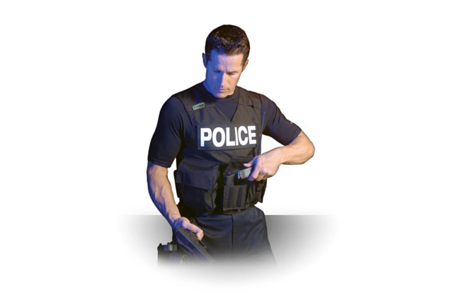 IACP 2013 - Thor-Shield Energy Weapon Protection Fabric Carrier
