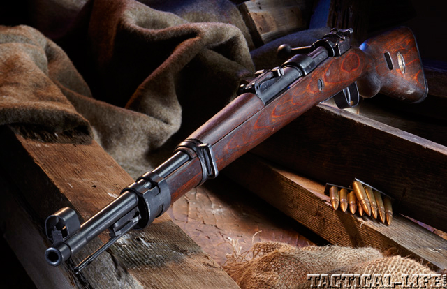 The K98k Mauser 8mm Military Rifle