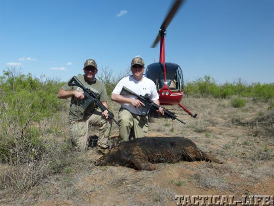 LaRue Tactical PredatAR OBR Hog Hunt