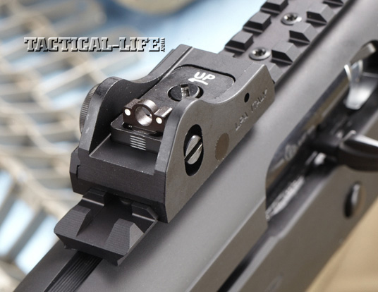 Law Enforcement Shotguns - Beretta TX4 Storm - rear sight