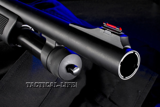 Law Enforcement Shotguns - FNH P-12 - Barrel and Mag Tube
