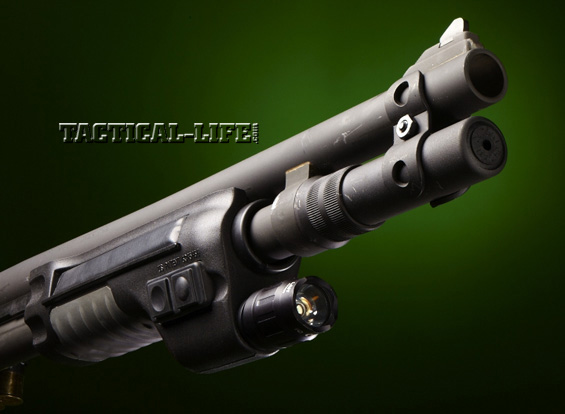 Law Enforcement Shotguns - Mossberg 590A1 - Surefire forend