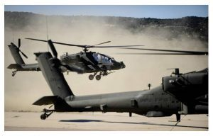 New Apache AH-64E Attack Helicopter Takes to the Air