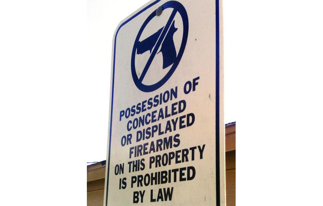North Carolina Gun Rights Group to Sue Over CCW Signs