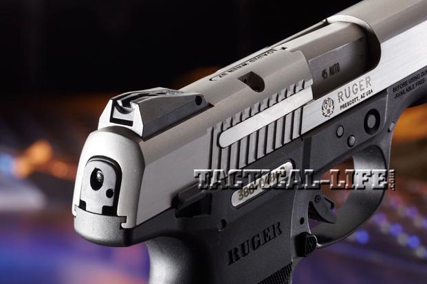 Combat Handguns Ruger-SR45-rear