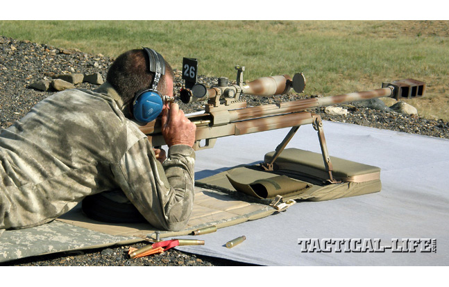 SGM Walt Wilkinson shooting the Steyr HS-50