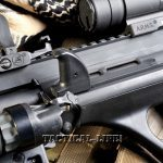 STEYR AUG A3 NATO sight light